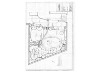 landscape design, plans for new garden Bath